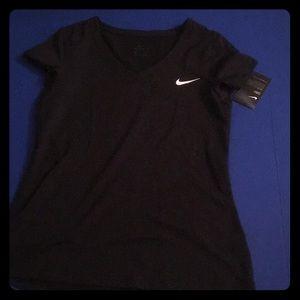 Nike black dry fit shirt